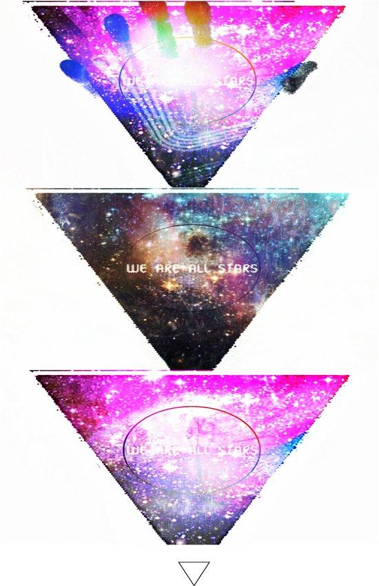 We Are All Stars Art Print