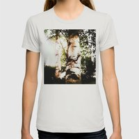 birch Womens Fitted Tee Silver SMALL