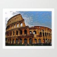 Do As The Roman's Do Art Print