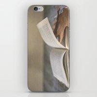 Libro Y Otoño.  iPhone & iPod Skin