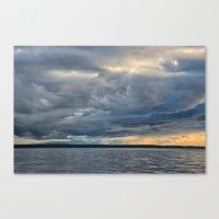 Sunbeams through the Rain Canvas Print