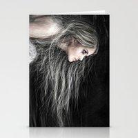 Mermaid at Midnight Stationery Cards