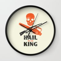 Hail to the King! Wall Clock