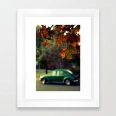 Autumnal Oregon Framed Art Print