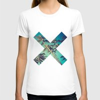 palm trees T-shirts featuring Palm Trees by Zavu