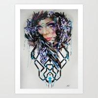 Salvage Beauty Art Print