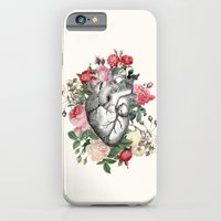 Roses for her Heart iPhone 6 Slim Case