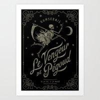 Le Vengeur De Pégoud (b… Art Print