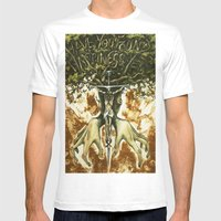 Alternative Methods Mens Fitted Tee White SMALL