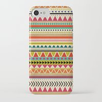 aztec iPhone & iPod Cases featuring  AZTEC by Allyson Johnson