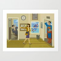Quitting Time Art Print