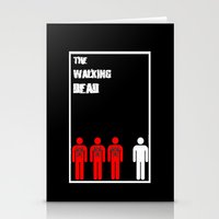 The Walking Dead Minimalist Stationery Cards