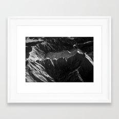 Mountains in Japan Framed Art Print