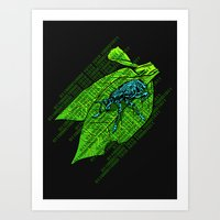 Leap Year Bug Art Print