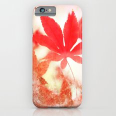 Red Leave Slim Case iPhone 6s