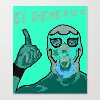 ROH El Generico Canvas Print
