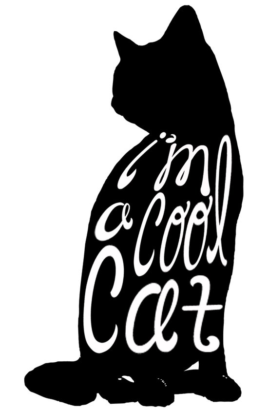 I'm A Cool Cat Art Print