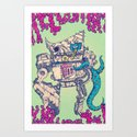 Helplessness Demon Art Print