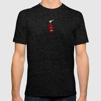 the Shining Rug & Room 237  Mens Fitted Tee Tri-Black SMALL