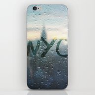 Rainy Day In NYC iPhone & iPod Skin