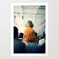LuLu At Bon Iver Art Print