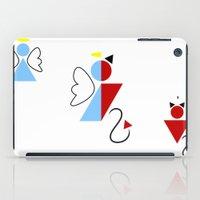 Dengel (Angel + Devil) iPad Case