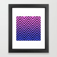 Donata Chevron Framed Art Print