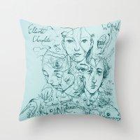 Elliott Chocolate Wormwo… Throw Pillow