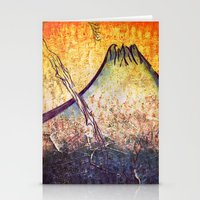 Good Morning  Mountain Stationery Cards