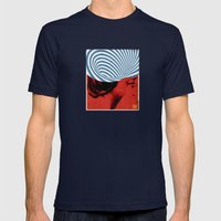 Cinquante | Collage Mens Fitted Tee Navy SMALL