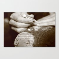Fake it Canvas Print