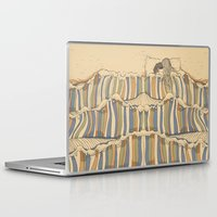 minimal Laptop & iPad Skins featuring Ocean of love by Huebucket