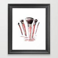These look familiar.. Framed Art Print