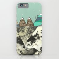 iPhone & iPod Case featuring Winter Slopes by Pips Ebersole