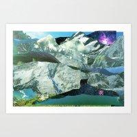 Experiment Am Berg 18 Art Print