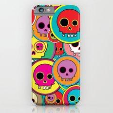 Button Skulls Slim Case iPhone 6s