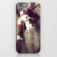 iPhone & iPod Case featuring Blanca Y Lobo by Libby B