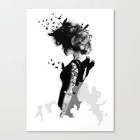 LADY BIRD Canvas Print