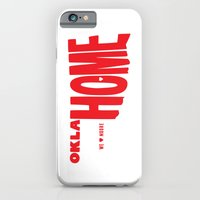 iPhone & iPod Case featuring oklaHOME by Zachary Burns