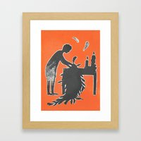Icarus and Daedalus VI Framed Art Print