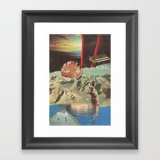 distant sounds (with mariano peccinetti) Framed Art Print