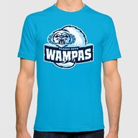 Planet Hoth Wampas - Blue Mens Fitted Tee Teal SMALL