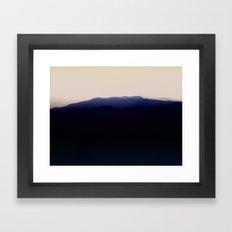 Mystic Old Mountain Framed Art Print