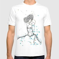 Real Fly Belle Mens Fitted Tee White SMALL