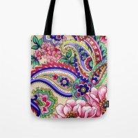 Floral Deco Tote Bag