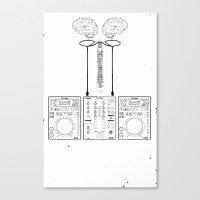The Pioneer (CDJ Quick C… Canvas Print