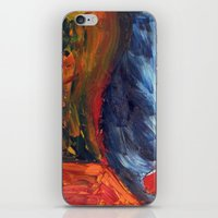 Expressionist Landscape iPhone & iPod Skin