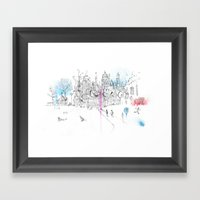 Soho London Framed Art Print