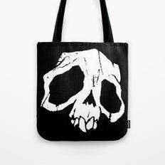 Ghoul Skull Tote Bag