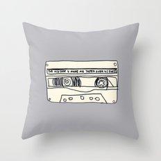 cassette schmassette Throw Pillow